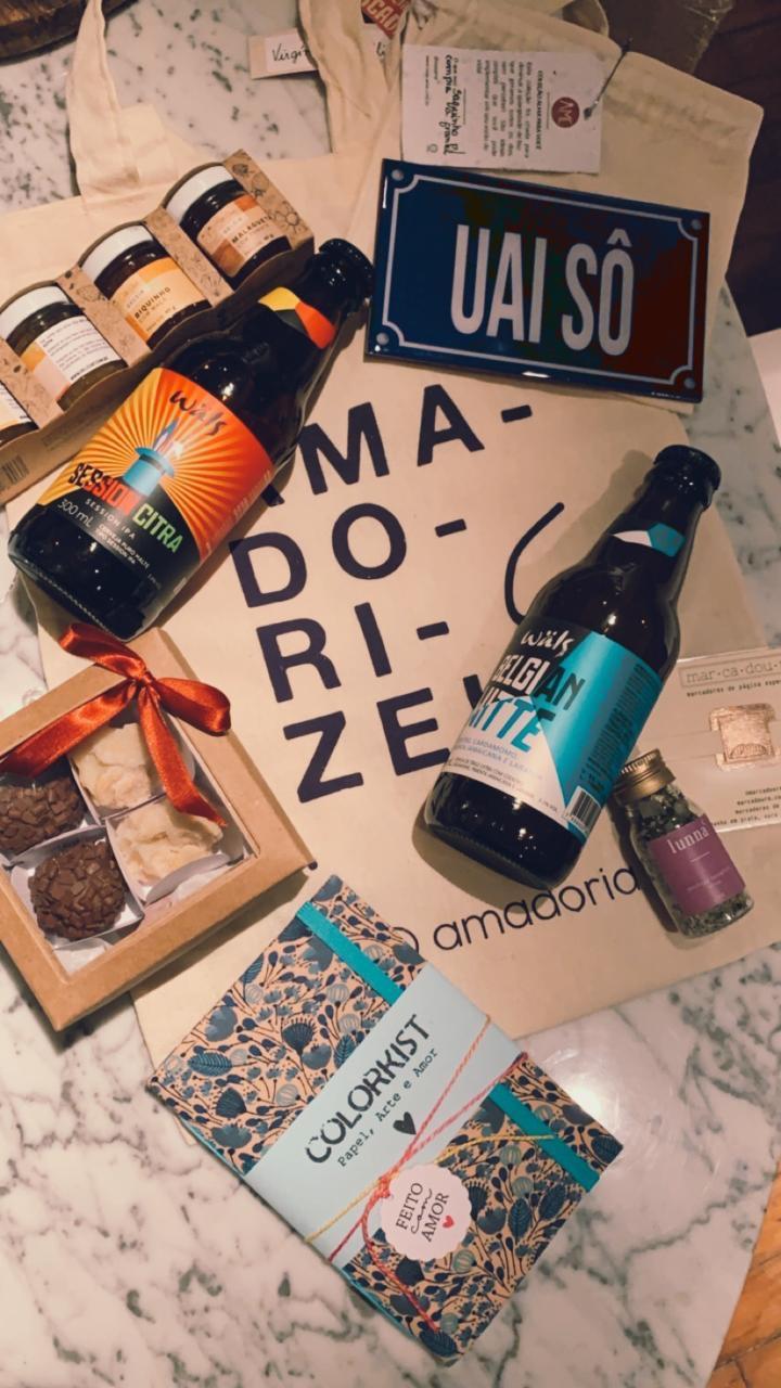 Foto de produtos que vão estar na Feira Mercadoria