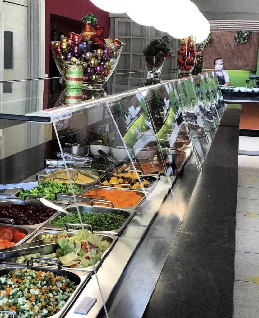 Balcão Restaurante Couve Flor